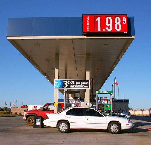 Gas Reaches $2 and Less; Oil Prices Lowest in Three Years