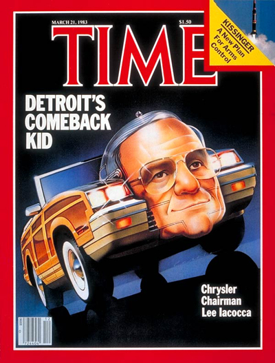 Lee Iacocca Time cover