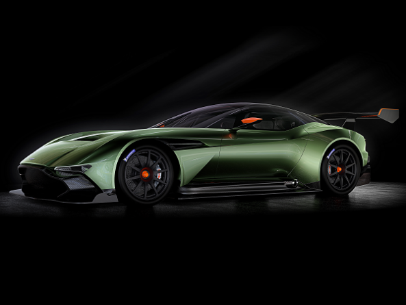 Aston Martin's $2.3 Million Vulcan Is So Fast They Need To Teach You How To Drive It